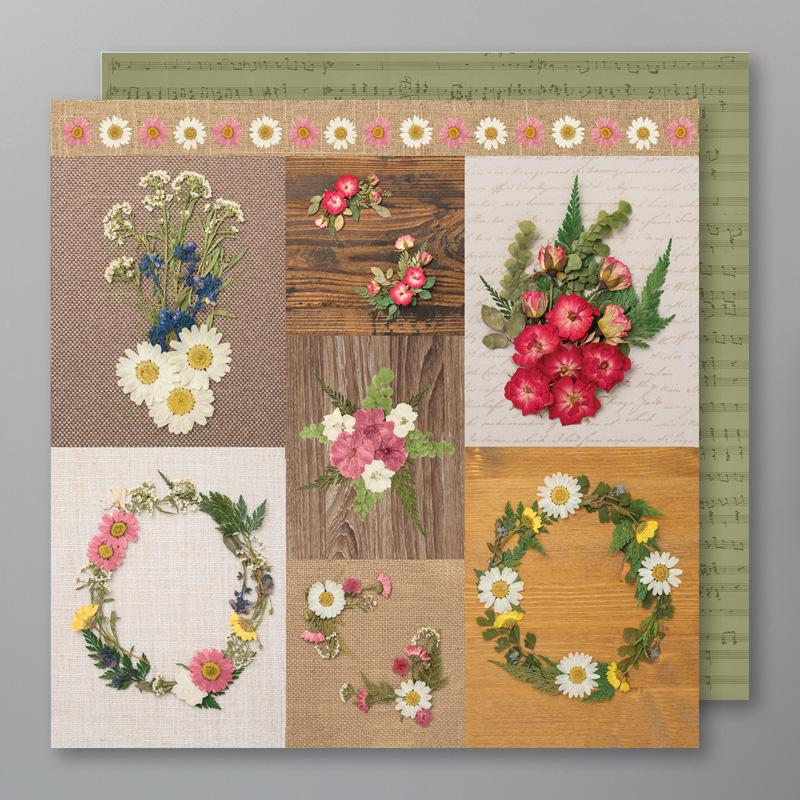 149500: Designerpapier Blüten der Erinnerung Image