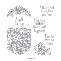 POCKETFUL OF HAPPINESS CLING STAMP SET
