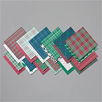 WRAPPED IN PLAID 6 X 6 (15.2 X 15.2 CM) SPECIALTY DESIGNER SERIES PAPER