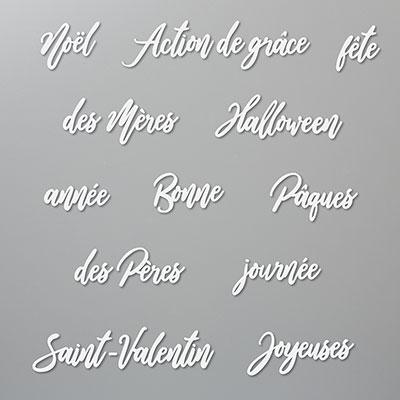 MOTS DE SOUHAITS DIES (FRENCH)