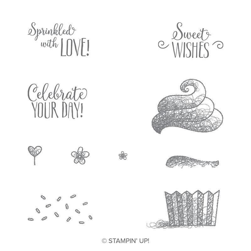 Hello Cupcake Photopolymer Stamp Set