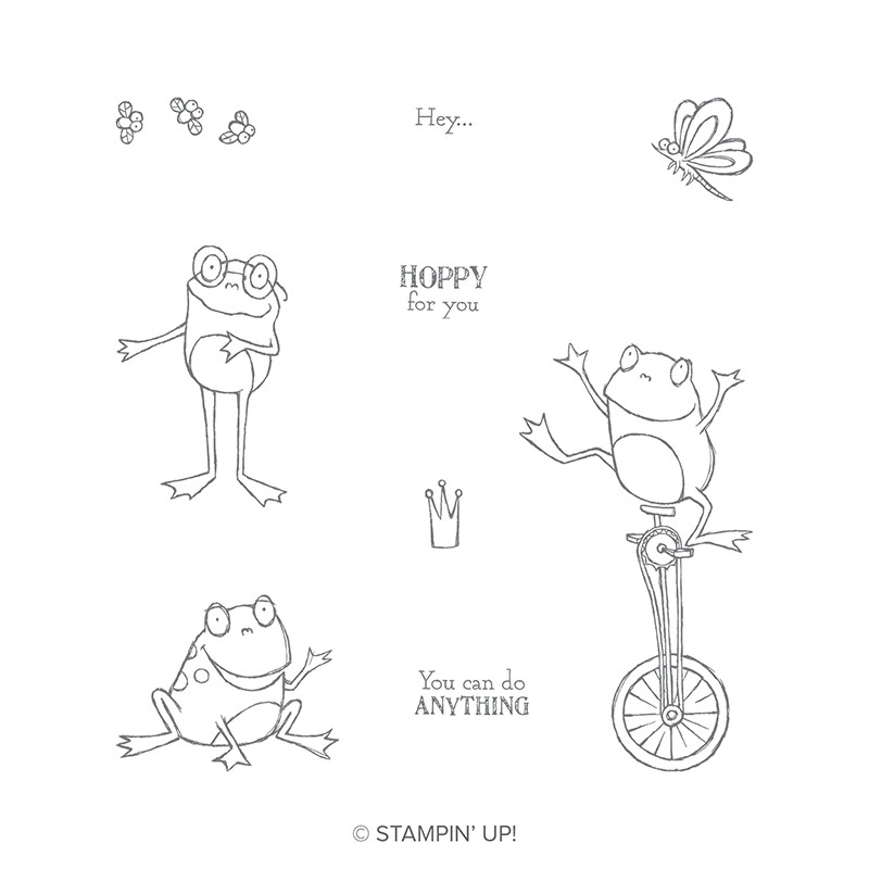 So Hoppy Together Cling Stamp Set