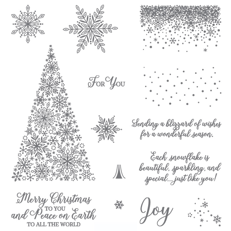 Snow Is Glistening Photopolymer Stamp Set