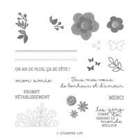 De Fil En Aiguille Photopolymer Stamp Set (French)