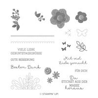 Geschickt Gestickt Photopolymer Stamp Set (German)