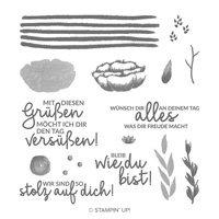 Alles, Was Freude Macht Photopolymer Stamp Set (German)