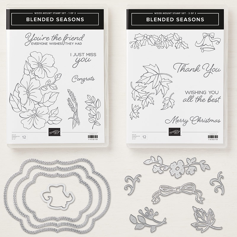 Blended Seasons Wood-Mount Bundle