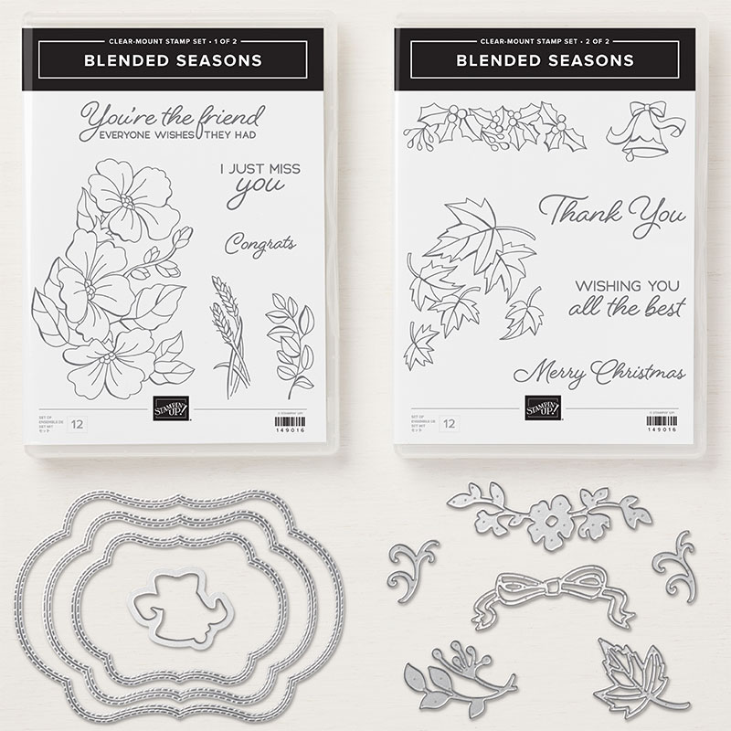 Blended Seasons Clear-Mount Bundle