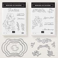 Mariage de saisons Clear-Mount Bundle (French)