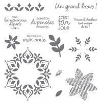 Bonheur Tout Autour Photopolymer Stamp Set
