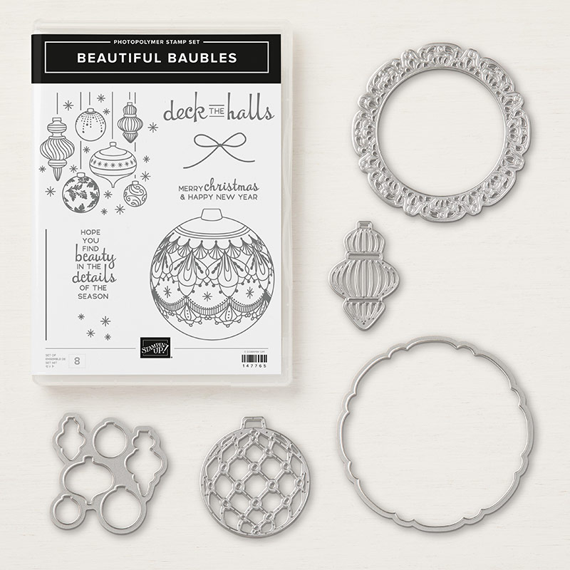 Beautiful Baubles Photopolymer Bundle