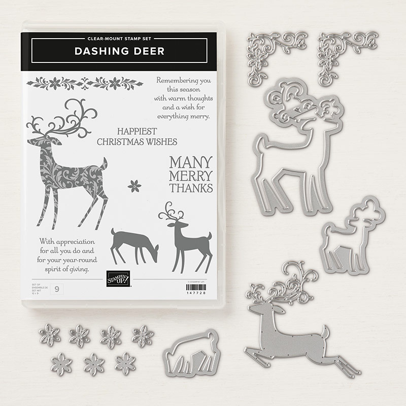 Dashing Deer Clear-Mount Bundle