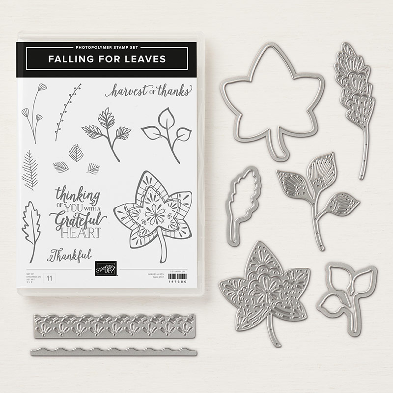 Falling for Leaves Photopolymer Bundle