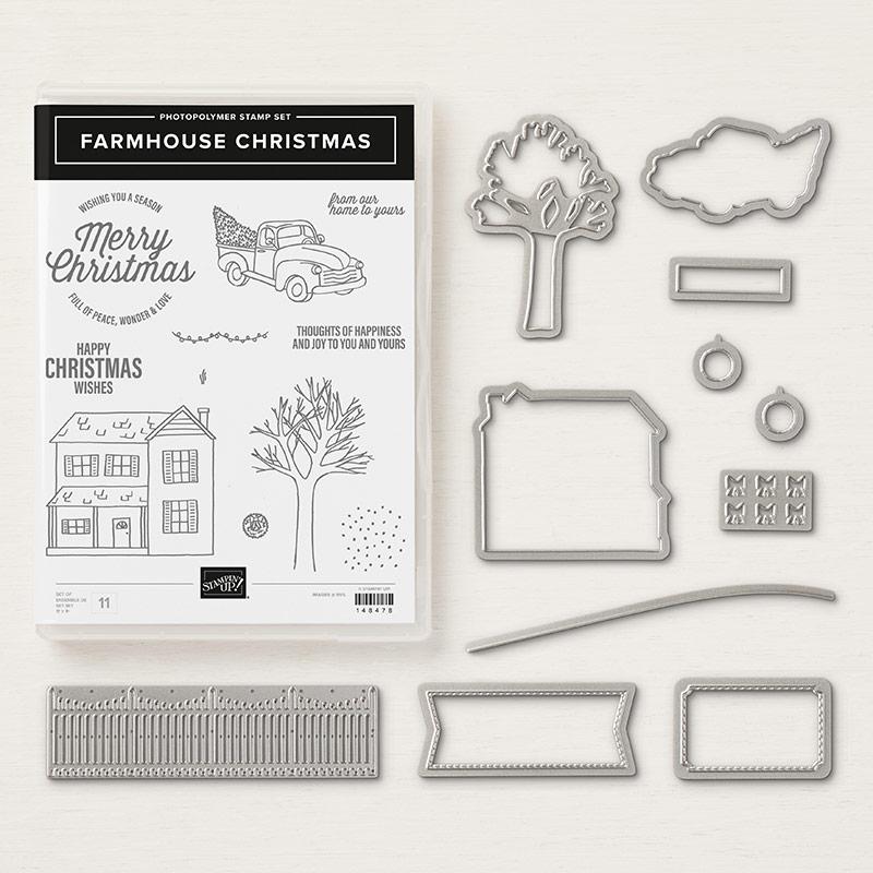 Farmhouse Christmas Photopolymer Bundle