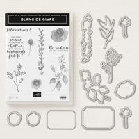 Blanc de givre Clear-Mount Bundle (French)