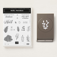 Noël Paisible Photopolymer Bundle (French)