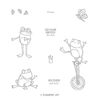 Froschkönig Cling Stamp Set (German)