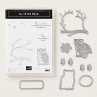 Nuit de paix Clear-Mount Bundle (French)