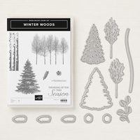 Winter Woods Wood-Mount Bundle
