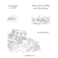 Haus Am Meer Cling Stamp Set (German)