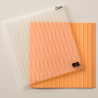 Simple Stripes Textured Impressions Embossing Folder