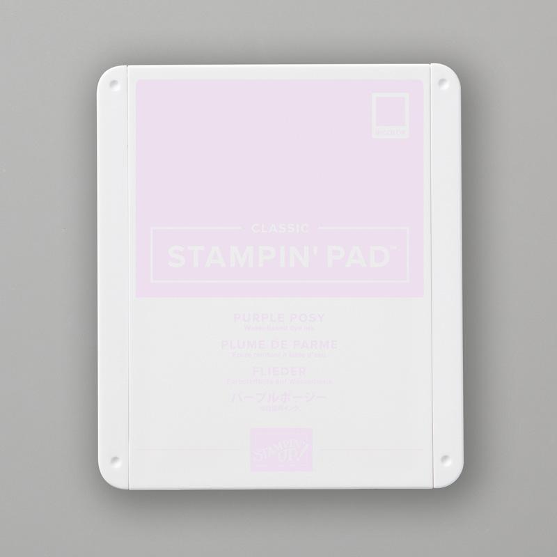 PURPLE POSY CLASSIC STAMPIN' PAD