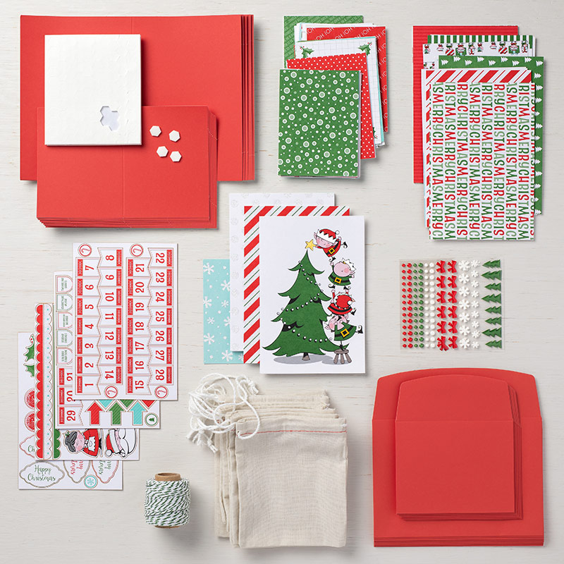 Santa's Workshop Cards Supplies Set