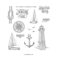 TERRE À L'HORIZON CLING STAMP SET (FRENCH)