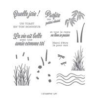 UNE AMITIÉ COMME LA NÔTRE PHOTOPOLYMER STAMP SET (FRENCH)