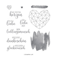 KUNST MIT HERZ CLING STAMP SET (GERMAN)