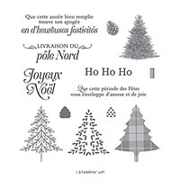 UN NOËL TRADITIONNEL PHOTOPOLYMER STAMP SET (FR)