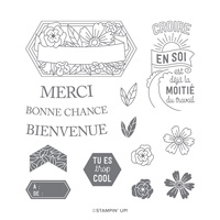 CROIS EN TOI HOST PHOTOPOLYMER STAMP SET (FRENCH)