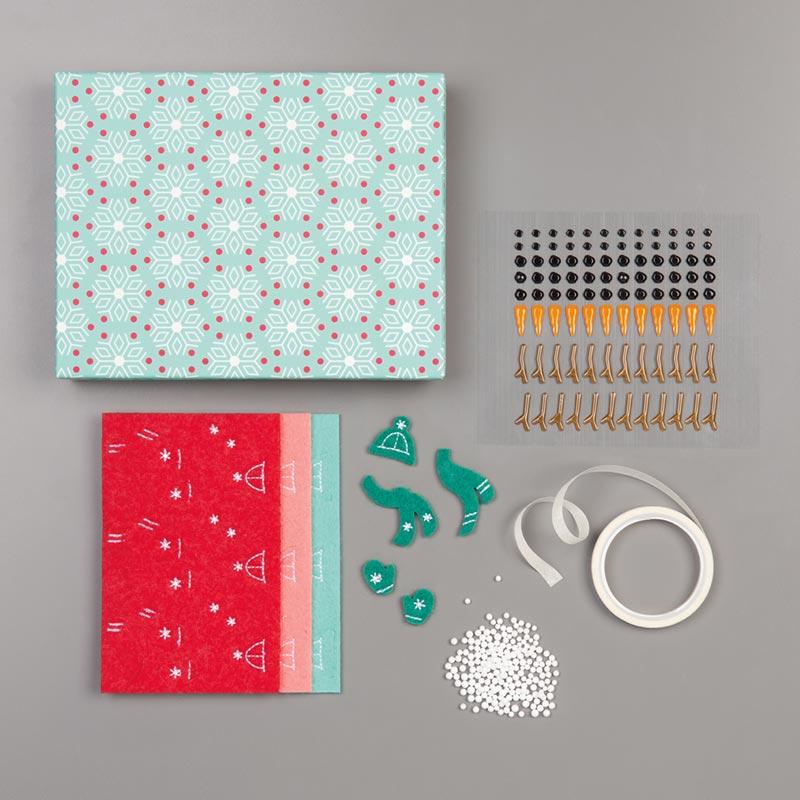 #150425 Let It Snow Embellishment Kit
