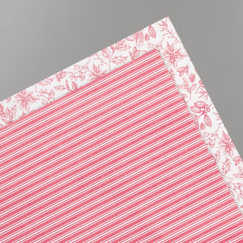 TOILE TIDINGS GIFT WRAP