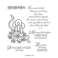 GOD'S PEACE CLING STAMP SET