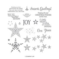 SO MANY STARS PHOTOPOLYMER STAMP SET (EN)