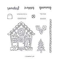 YUMMY CHRISTMAS PHOTOPOLYMER STAMP SET