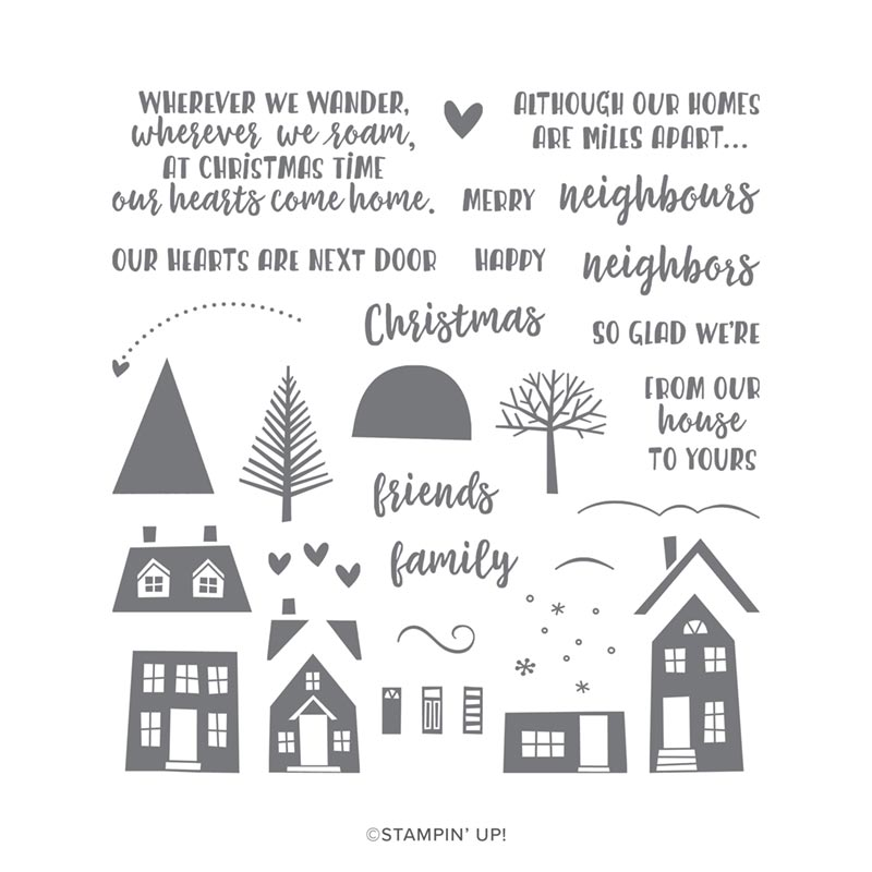 From our house to yours Stampin Up