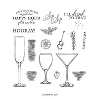SIP SIP HOORAY PHOTOPOLYMER STAMP SET