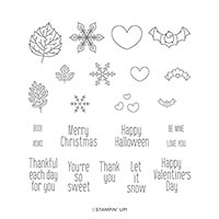 TO EVERY SEASON PHOTOPOLYMER STAMP SET