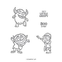 BOO TO YOU CLING STAMP SET