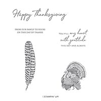 DAY OF THANKS CLING STAMP SET