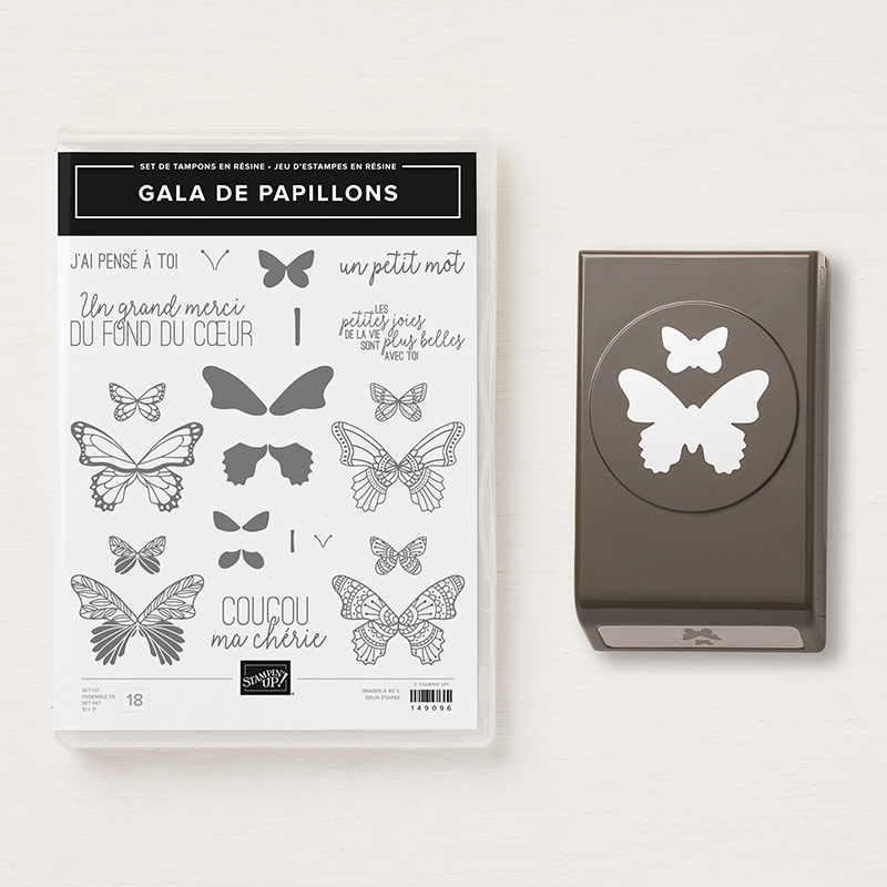 Gala De Papillons Photopolymer Bundle (French)