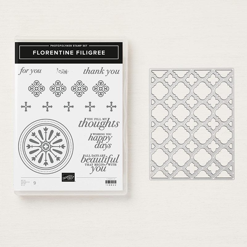 Florentine Filigree Photopolymer Bundle