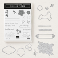 needle and thread stamps