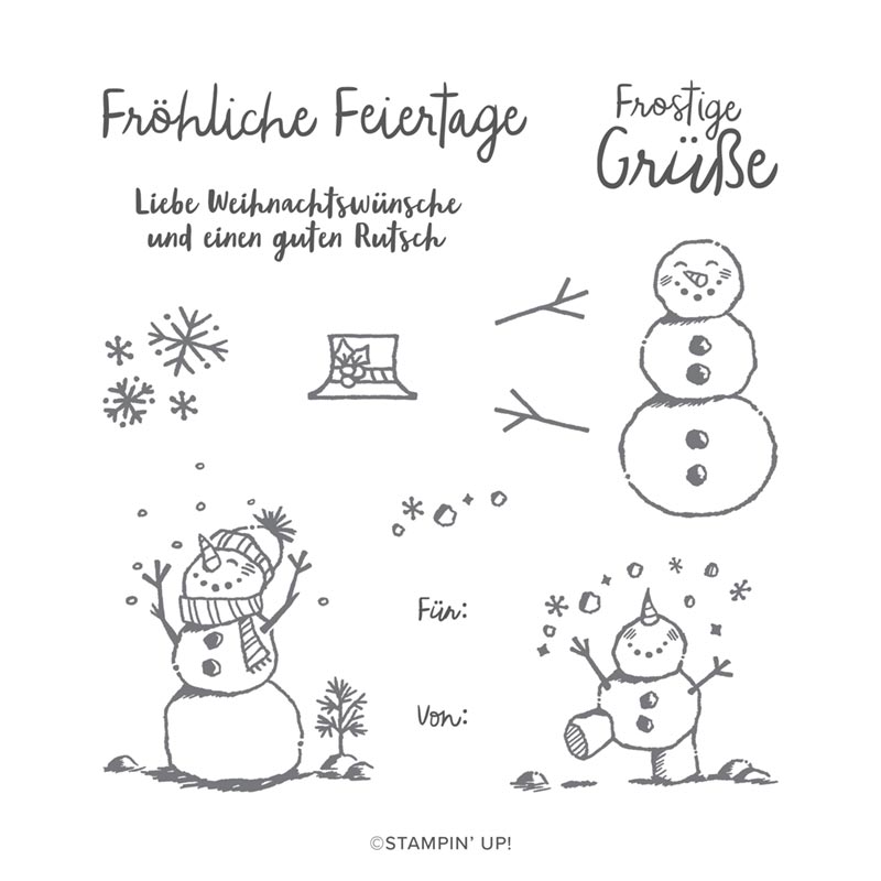 Frostige Grüße