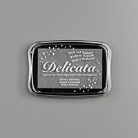 SILVERY SHIMMER DELICATA METALLIC INK PAD