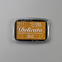 GOLDEN GLITZ DELICATA METALLIC INK PAD