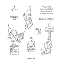 #MONPETITLUTIN CLING STAMP SET (FR)