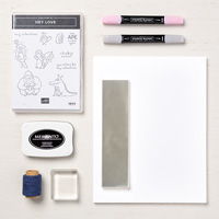 Hey Love Toppers You Can Make It Collection (8-1/2 X 11 Cardstock)